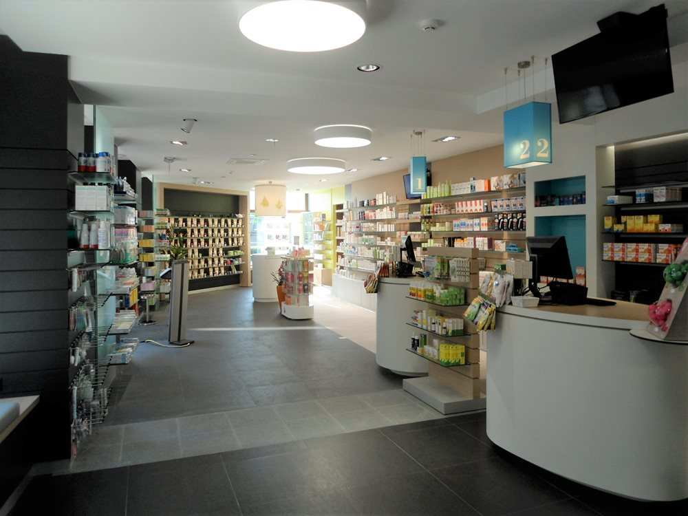 Extension d'une pharmacie à Ettelbruck
